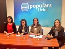 Charla-coloquio sobre Género e Igualdad de Oportunidades celebrada en Lleida