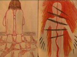 Hijos de la violencia de género - Dibujando los miedos