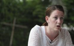 La joven noruega, durante una entrevista Kamran Jebreili
