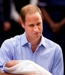 William, criticado y alabado por su permiso de paternidad
