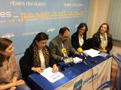 Acto sobre Igualdad en Aranda de Duero