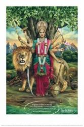 Durga, diosa de la victoria del bien sobre el mal