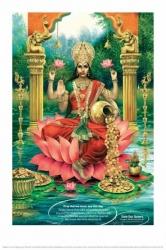 Lakshmi, la diosa de la riqueza