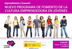 El programa consta de 12 talleres formativos