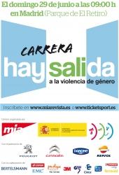 La I Carrera Hay Salida se disputará el 29 de junio en Madrid