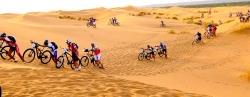 Foto de Ernesto Romero en la Titan Desert de 2010