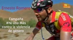 Ernestó participó en la Titan Desert 2014, una de las pruebas ciclistas más duras del mundo.