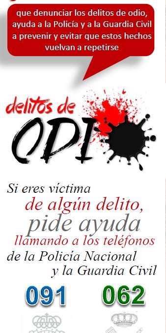 Delitos de odio intolerancia estudios y v deos for Ministerio de interior en ingles